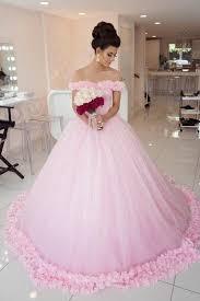 pink wedding dress pink wedding dresses luulla