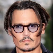 mens light tint sunglasses johnny depp glasses vintage eyewear frame tinted sunglasses men
