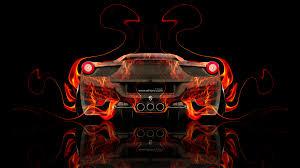 black ferrari back ferrari 458 italia back fire abstract car 2014 el tony