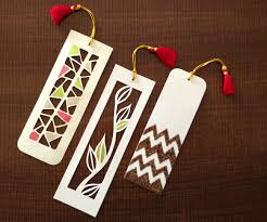 how to make bookmarks paper cutting art 4 steps