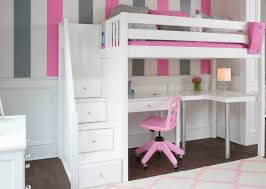 Bunk Bed With Desk For Sale Beds For Kids Rooms With Low Ceilings Maxtrix