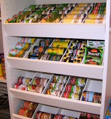 kitchen storage ideas ikea pantry divide cans by size and stagger drawers so cans roll