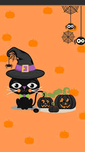 halloween black cat wallpaper 1073 best halloween u0026 fall wallpapers ash u0027s images on pinterest