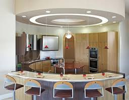 kitchen awesome inspiring and unique kitchen island design half kitchen half circle kitchen island hanging lamp lighting for nice modern design stools cabinet