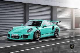 porsche gt3 colors 2016 porsche 911 gt3 rs imagined in colors gtspirit