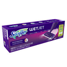 shop swiffer wetjet mop at lowes com