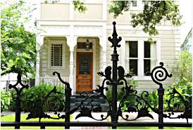 Rod Iron Home Decor New Orleans Homes And Neighborhoods Wrought Iron Fences In