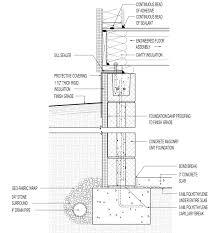 Cinder Block Garage Plans by Foundation Detail Construction Pinterest Concrete Block