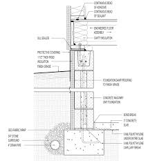 Tiny House On Foundation Plans by Foundation Detail Construction Pinterest Concrete Block