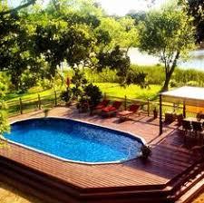 above ground pools decks idea garden u0026 swimming pool best
