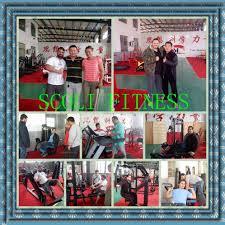 fitness machine hammer strength press chest flat bench gym