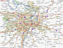 map st louis awesome map of st louis missouri travelsmaps