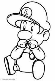 mario luigi coloring pages cartoon coloring pages
