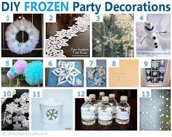 frozen party 75 diy frozen birthday party ideas about family crafts