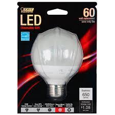 60w Led Light Bulb by Feit G25 650 Ledg2 60w Equivalent G25 Frost Medium Base Led Light