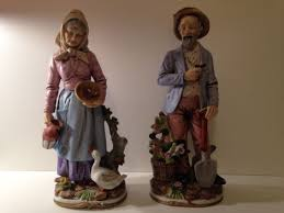 Home Interiors Figurines by Wonderful Four Retired Home Interiors Homco Bisque Figurines