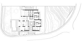 Courtyard Planning Concept Minimalist Stone House In Monasterios With Open Courtyards