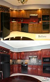 Resurface Kitchen Cabinets Cost 195 Best Kitchen Transformations Images On Pinterest Kitchen