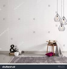 Decor And Floor by Brick Wall Interior Decor Sign Stock Photo 349859384 Shutterstock