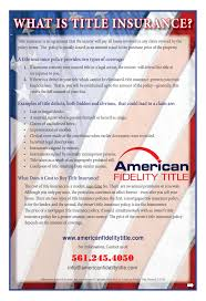 forms american fidelity title