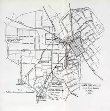 San Jose City College Map by Wx4 Southern Pacific Pages