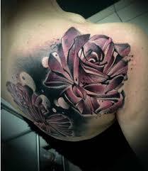 roses on shoulder blade best ideas gallery