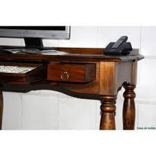 Schreibtisch Mit Computertisch Schreibtisch Computertisch Pc Tisch Mit Tastaturauszug Braun