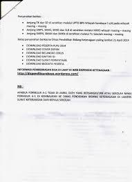 contoh surat pernyataan format a1 sd uptd bps surabaya 1 laman 2