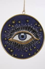 seeing eye large disk ornament clc by corey calter