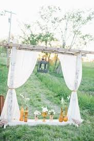 wedding arch ladder doing something similar for our wedding arch backdrop background