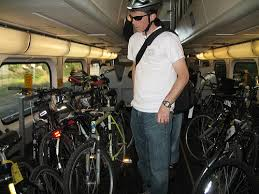 on bicycles and what else is there caltrain weekend baby