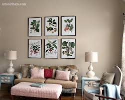 Where To Find Inexpensive Antique Botanical Prints - Dining room framed art