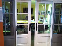 French Doors With Opening Sidelights by The Marvin Ultimate Bi Parting Sliding French Door In Our Showroom