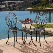 Small Patio Table And Chairs Outdoor Bistro Sets Shop The Best Deals For Dec 2017 Overstock Com