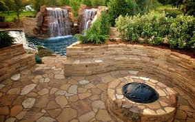 Fire Pit With Water Feature - 14 backyard landscaping ideas with fire pit