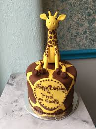 giraffe cake custom birthday cakes