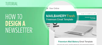 to design a newsletter template tutorial 1