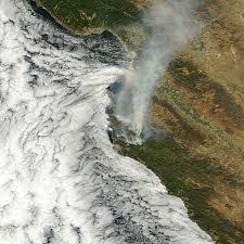 Wildfire Book Summary by Seen From Space Eight Days Of A Blazing California Wildfire Imageo