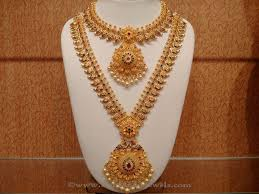 indian bridal necklace images Latest indian bridal necklace set from naj south india jewels jpg