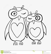 two cute decorative owls stock vector image 43289012