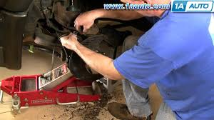 how to install replace part 2 front lower ball joint chevy gmc s