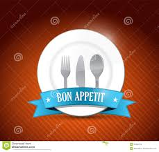 food related kitchen typography quote bon appetit vintage vector