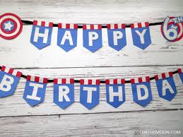 Captain America Decor How To Throw The Ultimate Captain America Birthday Party Color