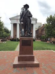 statue in downtown winchester winchester va my home town