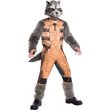 guardians of the galaxy deluxe rocket raccoon child halloween