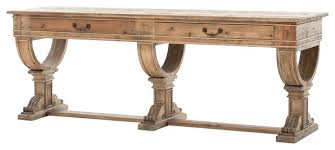 36 high console table reclaimed wood console table awesome zin home sergio french