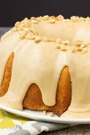 peanut butter glazed banana pound cake recipe this super moist