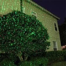 starry r g lawn light dynamic projector laser light sensor