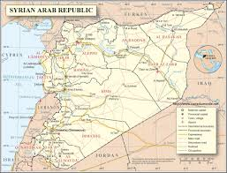 Map Of Syria by Map Syria Country Map Syria