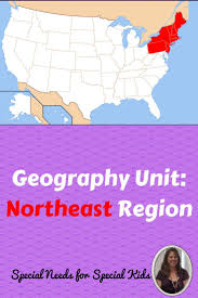 northeast region geography unit for special education special